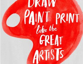 Draw Paint Print Like the Great Artists